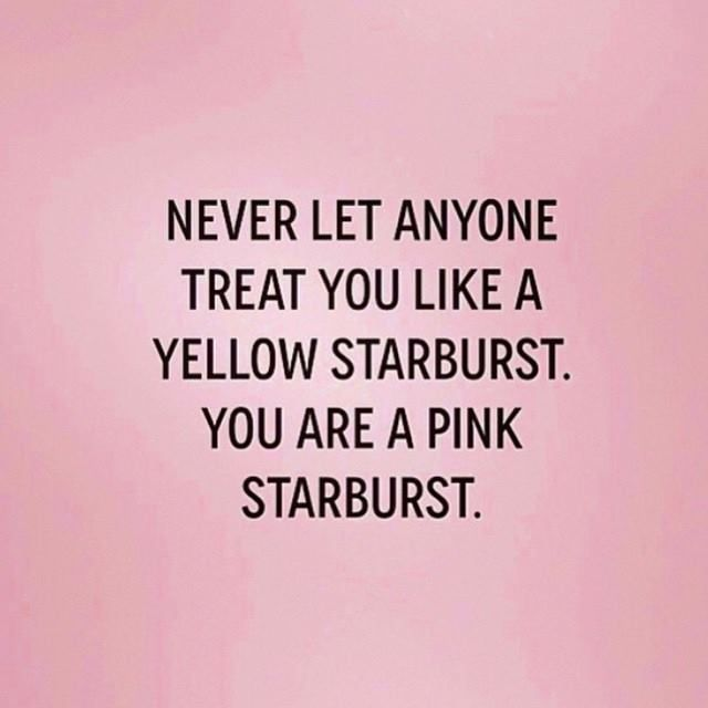 You Are A Pink Starburst – Girl Got Faith