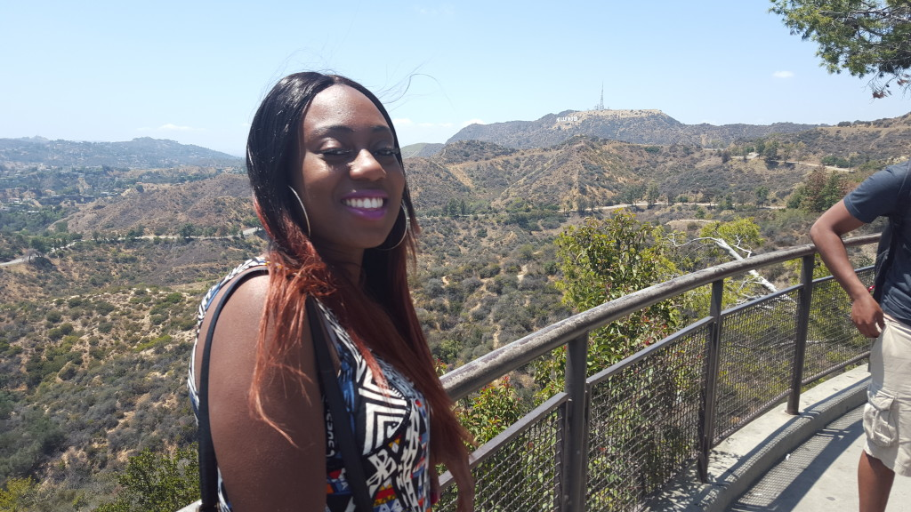 Month 5. Simone in Hollywood!