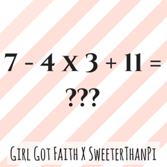 Girl Got Faith X SweeterThanPi question 1