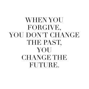FORGIVENESSCHANGING