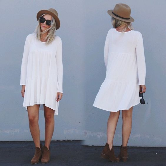 katie white dress